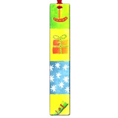 Christmas Things Large Book Marks by julienicholls