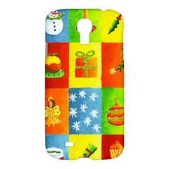 Christmas Things Samsung Galaxy S4 I9500/i9505 Hardshell Case by julienicholls