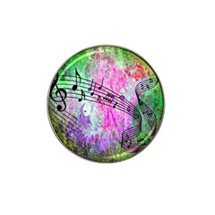 Abstract Music 2 Hat Clip Ball Marker (4 Pack) by ImpressiveMoments