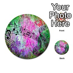 Abstract Music 2 Multi Purpose Cards (round)  by ImpressiveMoments