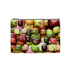 Stones 001 Cosmetic Bag (Medium)  by ImpressiveMoments