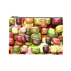 Stones 001 Cosmetic Bag (Large)  by ImpressiveMoments