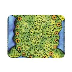 Turtle Double Sided Flano Blanket (mini)  by julienicholls