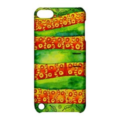 Patterned Snake Apple Ipod Touch 5 Hardshell Case With Stand by julienicholls