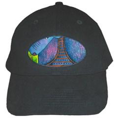 Patterned Rhino Black Cap by julienicholls