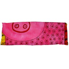 Patterned Pig Body Pillow Cases Dakimakura (two Sides)  by julienicholls