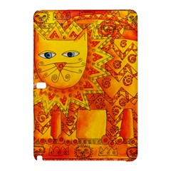 Patterned Lion Samsung Galaxy Tab Pro 12.2 Hardshell Case by julienicholls
