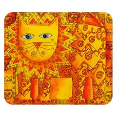 Patterned Lion Double Sided Flano Blanket (small)  by julienicholls