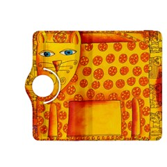 Patterned Leopard Kindle Fire HDX 8.9  Flip 360 Case by julienicholls