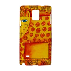 Patterned Leopard Samsung Galaxy Note 4 Hardshell Case