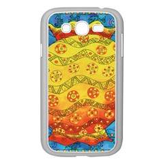 Patterned Fish Samsung Galaxy Grand DUOS I9082 Case (White) by julienicholls