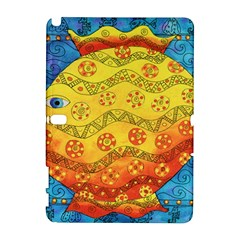 Patterned Fish Samsung Galaxy Note 10 1 (p600) Hardshell Case by julienicholls