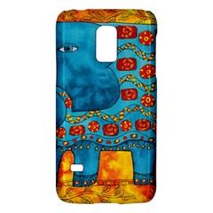Patterned Elephant Galaxy S5 Mini by julienicholls