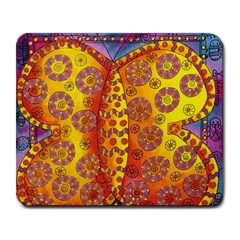 Patterned Butterfly Large Mousepads by julienicholls