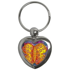 Patterned Butterfly Key Chains (heart)  by julienicholls