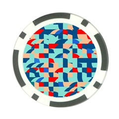 Miscellaneous Shapes Poker Chip Card Guard by LalyLauraFLM