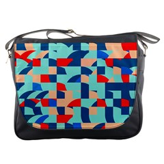 Miscellaneous Shapes Messenger Bag by LalyLauraFLM
