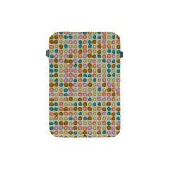 Retro Dots Pattern Apple Ipad Mini Protective Soft Case by LalyLauraFLM