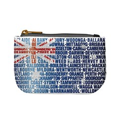 Australia Place Names Flag Mini Coin Purses by theimagezone