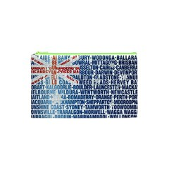 Australia Place Names Flag Cosmetic Bag (XS) by theimagezone