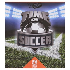 Time Of Soccer   Level 3 By Rafal Lutczyk   Drawstring Pouch (large)   Brigtgoa8nmo   Www Artscow Com Front