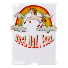 Best  Dad  Ever Apple Ipad 3/4 Hardshell Case (compatible With Smart Cover) by redcow