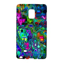 Inked Spot Fractal Art Samsung Galaxy Note Edge Hardshell Case by TheWowFactor