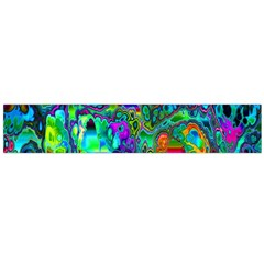Inked Spot Fractal Art Flano Scarf (large) by TheWowFactor