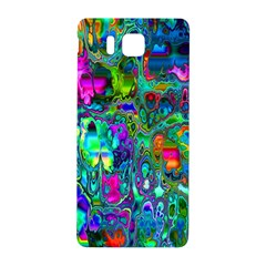 Inked Spot Fractal Art Samsung Galaxy Alpha Hardshell Back Case by TheWowFactor