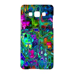 Inked Spot Fractal Art Samsung Galaxy A5 Hardshell Case  by TheWowFactor