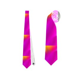 Pink Cell Mate Neckties (one Side)  by TheWowFactor