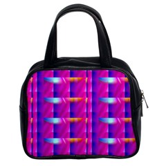 Pink Cell Mate Classic Handbags (2 Sides) by TheWowFactor