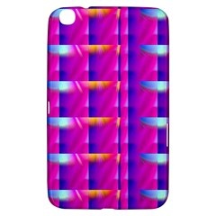 Pink Cell Mate Samsung Galaxy Tab 3 (8 ) T3100 Hardshell Case  by TheWowFactor