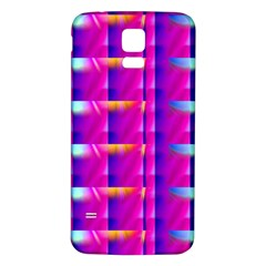 Pink Cell Mate Samsung Galaxy S5 Back Case (white) by TheWowFactor