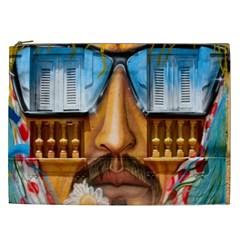 Graffiti Sunglass Art Cosmetic Bag (xxl)  by TheWowFactor