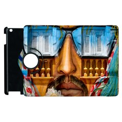 Graffiti Sunglass Art Apple Ipad 3/4 Flip 360 Case by TheWowFactor