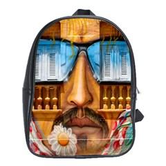 Graffiti Sunglass Art School Bags (xl)  by TheWowFactor