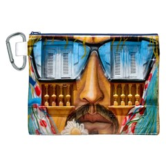 Graffiti Sunglass Art Canvas Cosmetic Bag (xxl)  by TheWowFactor