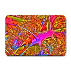 Biology 101 Abstract Small Doormat  by TheWowFactor