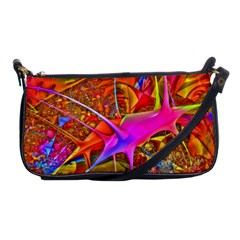 Biology 101 Abstract Shoulder Clutch Bags by TheWowFactor