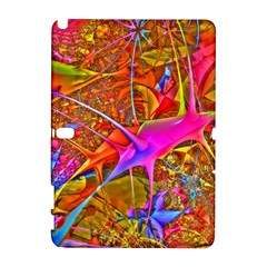 Biology 101 Abstract Samsung Galaxy Note 10 1 (p600) Hardshell Case by TheWowFactor