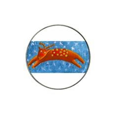 Rudolph The Reindeer Hat Clip Ball Marker by julienicholls