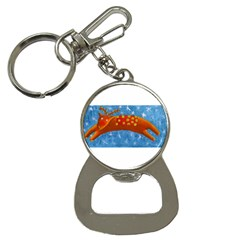 Rudolph The Reindeer Bottle Opener Key Chains by julienicholls