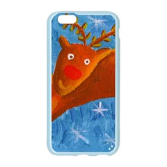 Rudolph The Reindeer Apple Seamless iPhone 6 Case (Color) by julienicholls