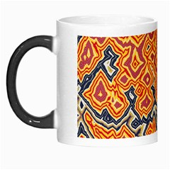 Red Blue Yellow Chaos Morph Mug by LalyLauraFLM
