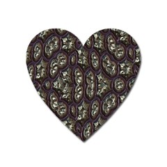 3d Plastic Shapes Magnet (heart) by LalyLauraFLM