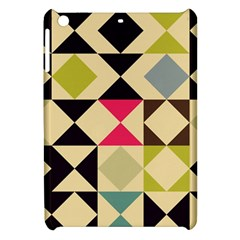 Rhombus And Triangles Pattern Apple Ipad Mini Hardshell Case by LalyLauraFLM