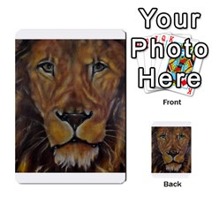 Cecil The African Lion Multi Purpose Cards (rectangle)  by timelessartoncanvas
