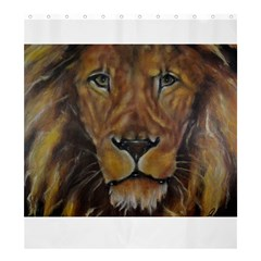 Cecil The African Lion Shower Curtain 66  X 72  (large)  by timelessartoncanvas