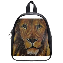 Cecil The African Lion School Bags (small)  by timelessartoncanvas
